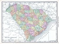 South Carolina, World Atlas 1913